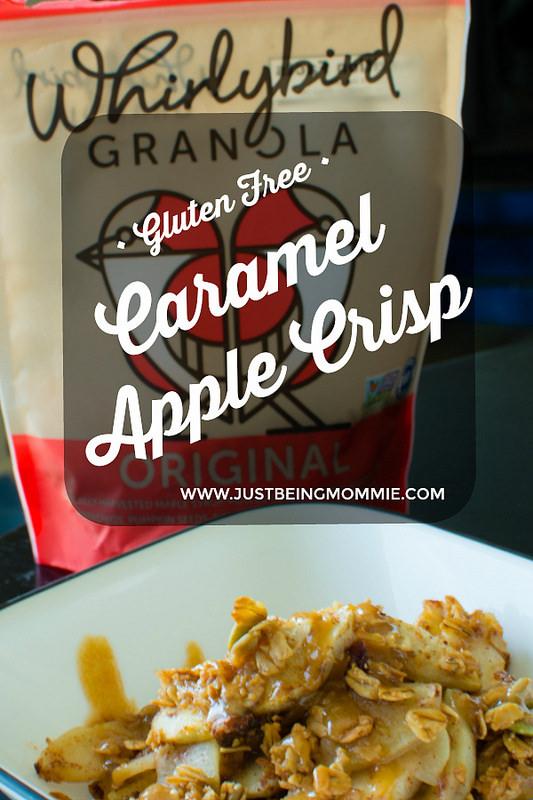 Easy Gluten-Free Caramel Apple Crisp