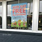 Hey! Kids eat Free at Steak 'n Shake
