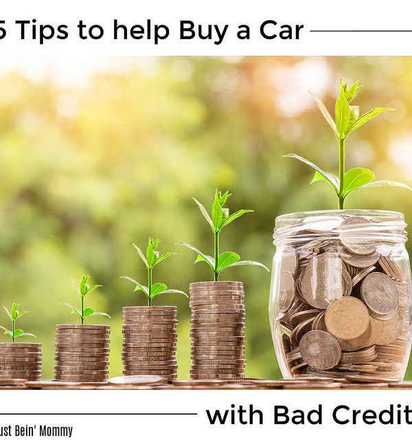 5 tips to help buy a car with bad credit
