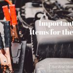 Important Car Items for the Winter