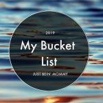 My 2019 Bucket List