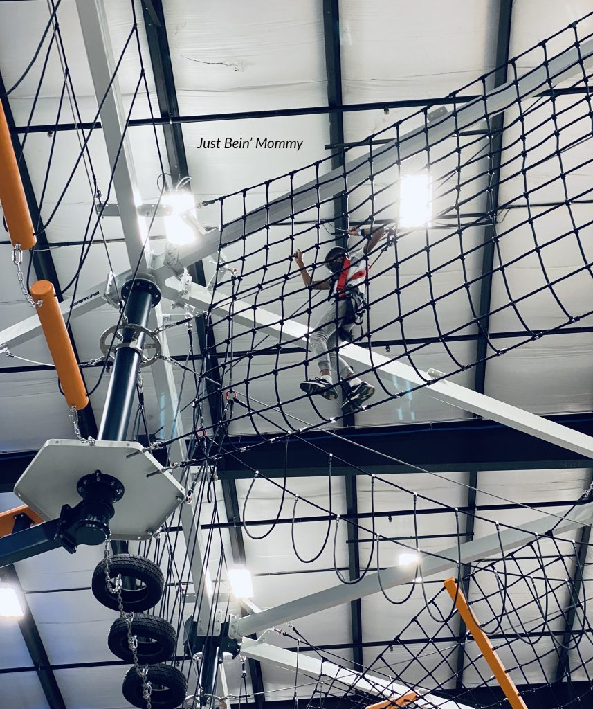 Play: Cbus ropes course